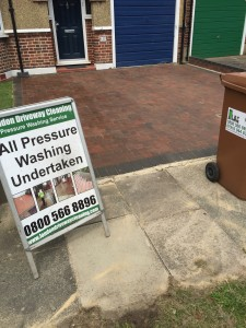 Driveway cleaning Pinner